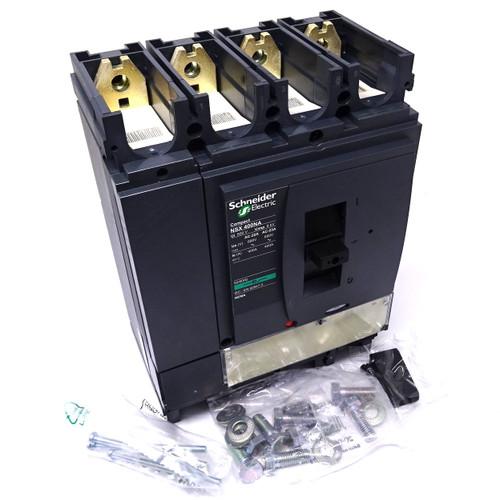 4P Moulded Case Circuit Breaker LV432757 Schneider 400A