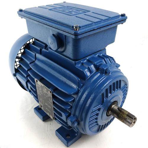 1Ph AC Motor 10322402 WEG 80-04 0.75kW 4-Pole B3 Foot Mount