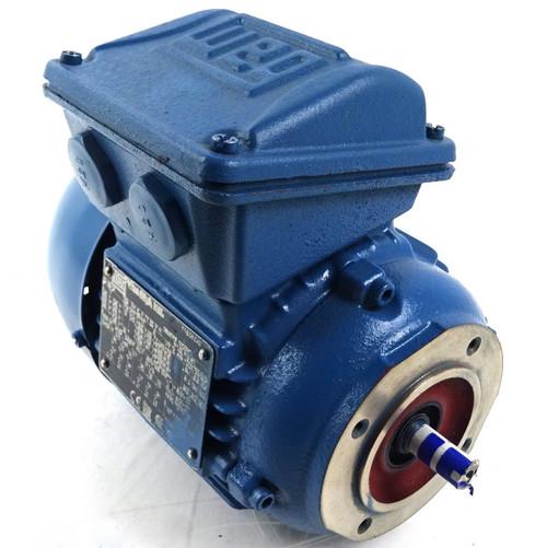 3Ph AC Motor 11759487 WEG 63-04 0.18kW 4-Pole B14 Face Mount