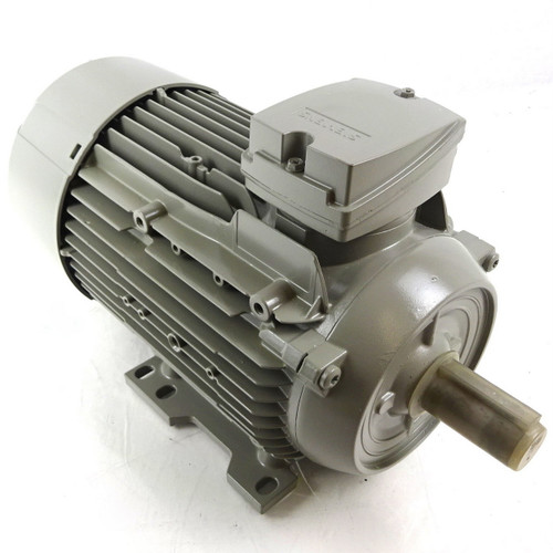 IE3 3Ph AC Motor 1LE1003-0EC42-2AA4 Siemens FS 90L 1.1kW 6-Pole B3 Foot Mount