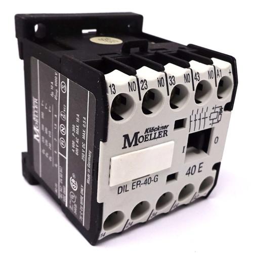 Contactor Relay DILER-40-G-12VDC Moeller 12VDC 4NO