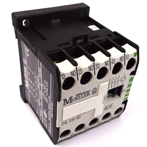 Contactor Relay DILER-40-240 Moeller 240VAC 4NO