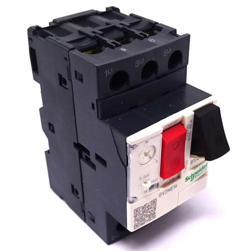 Motor Circuit Breaker GV2ME16 Schneider 9-14A GV2-ME16