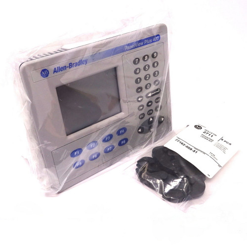 Touch Screen Panel With Keypad 2711P-B4C20A Allen-Bradley PanelView Plus 400