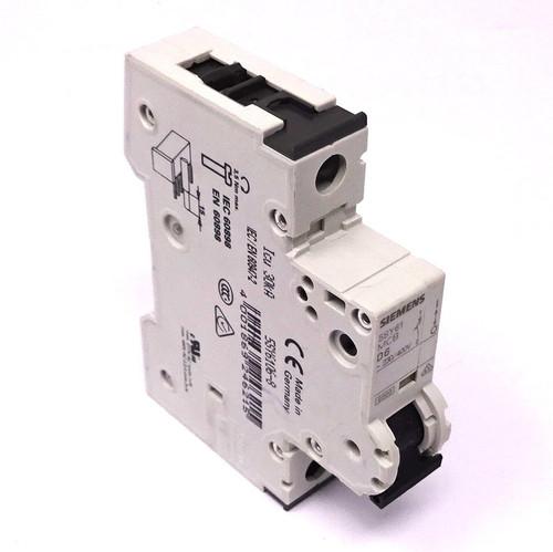 1P Circuit Breaker 5SY6106-8 Siemens 6A D-Curve *New*