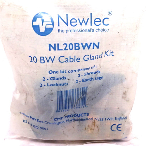 Cable Gland Kit NL20BWN NEWLEC