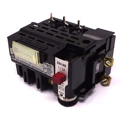 Overload Relay RA1-BB-116 Telemecanique 1-1.6A