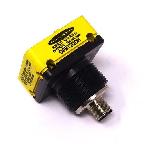 Sensor Power Block OPBT2QDH Banner 10-30VDC 100mA *New*