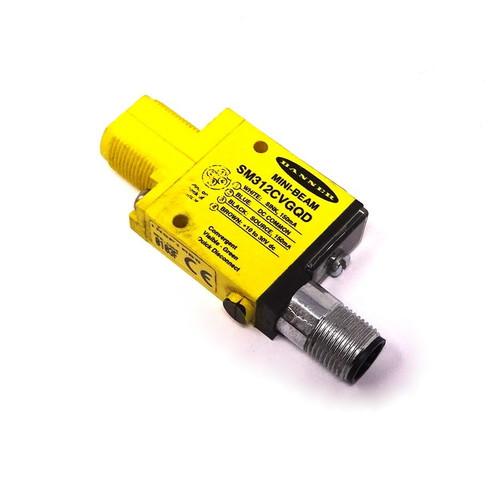 Beam Sensor SM312CVGQD Banner 16mm 10-30VDC *New*
