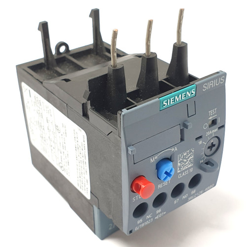 Overload Relay 3RU2126-4BB0 Siemens 14-20A 1NO 1NC *Fitted*