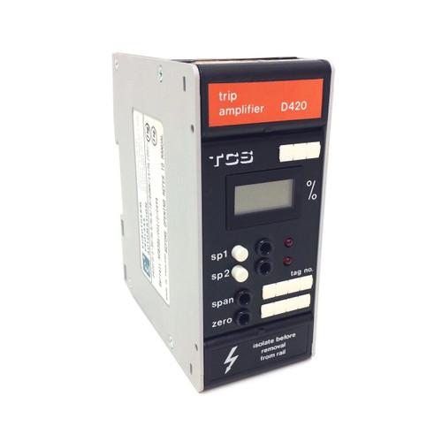 Trip Amplifier D420 Eurotherm/TCS D420/D/1-5V/RLA/RLA/TB/DOWN/1%/HL/00/-