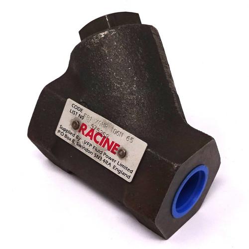 "Check Valve Hydraulic FB1-X0HP-106N-65 Racine 1-1/4"""