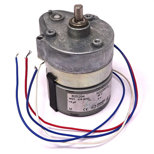 Geared Motor 825294 Crouzet 375RPM 24VAC 5W *Fitted*
