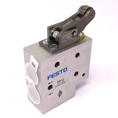 Flow Control Valve GRR-1/2 Festo 10bar G1/2