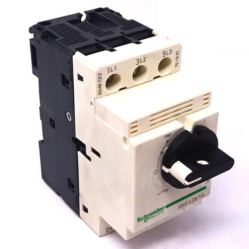 Motor Circuit Breaker GV2L05 Schneider 480VAC 1-1.7A