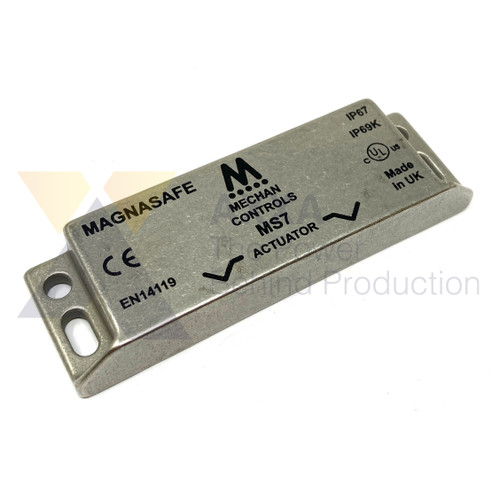 Mechan Controls - MS7-SS-ACT, Actuator Only for Magnetic Safety Switch, 230VAC, Stainless Steel 316