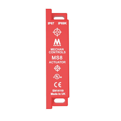 Mechan Controls - MS8-ACT, Actuator Only for Magnetic Safety Switch, 2NO, 230VAC, Plastic
