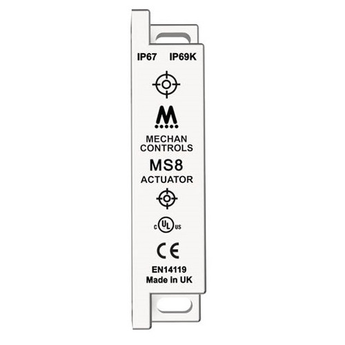 Mechan Controls - MS8-SS-ACT, Actuator Only for Magnetic Safety Switch, 230VAC, Stainless Steel 316
