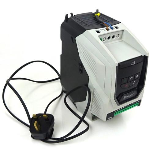 1Ph Inverter Drive BFI-P2-22-0070-1F42-SN Beijer 200-240VAC 1.5kW 7A *Used*