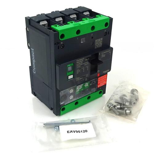 4P Circuit  Breaker LV426796 Schneider 415VAC 50A