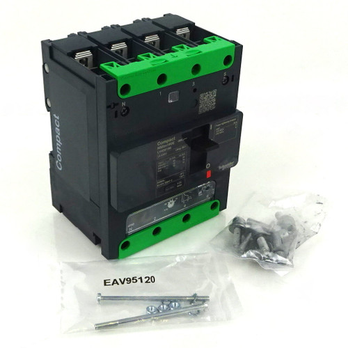 4P Circuit Breaker LV426166 Schneider 415VAC 80A 16kA