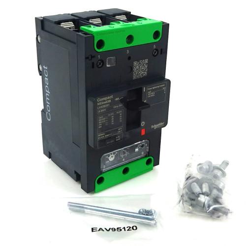 3P Circuit Breaker LV426251 Schneider 415VAC 25A 25kA
