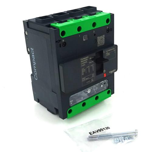 4P Circuit Breaker LV426225 Schneider 415VAC 63A 25kA