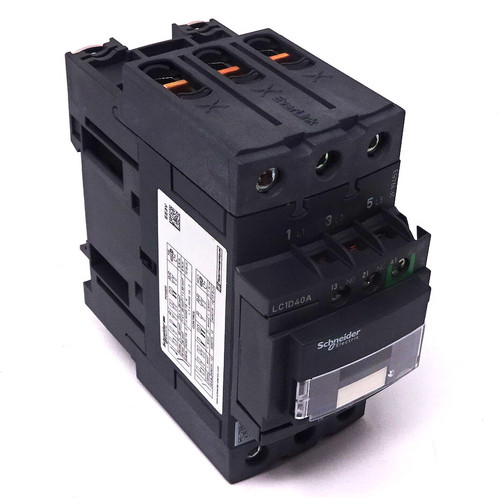 Contactor LC1D40ABNE Schneider 230VAC 11kW 60A 24-60VAC