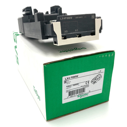 Coil LX4F8MW Schneider 220...240VDC for use with LC1F800