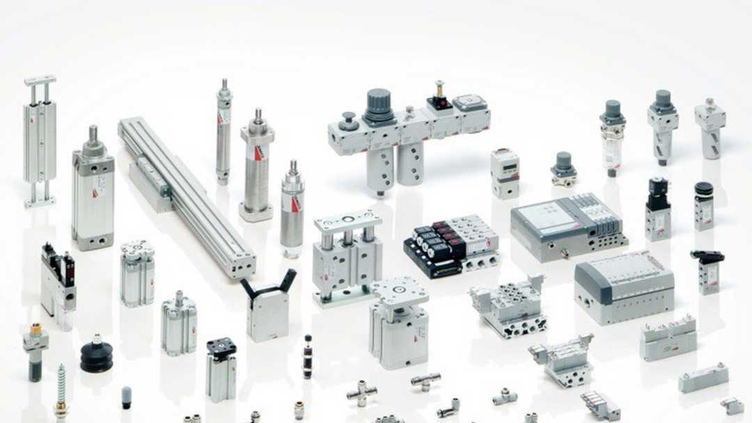Pneumatics Hydraulics, mostly SMC Festo ASCO Norgren