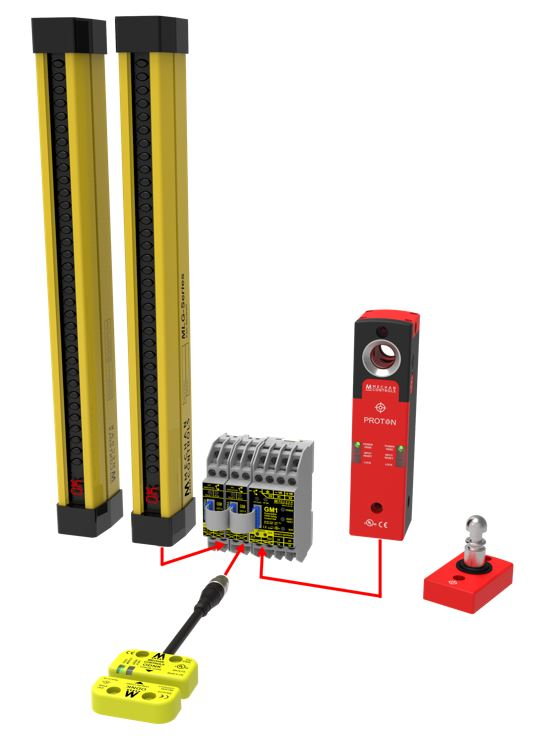 Mechan Controls Safety Relay with Expandable Modules Picture Showcase