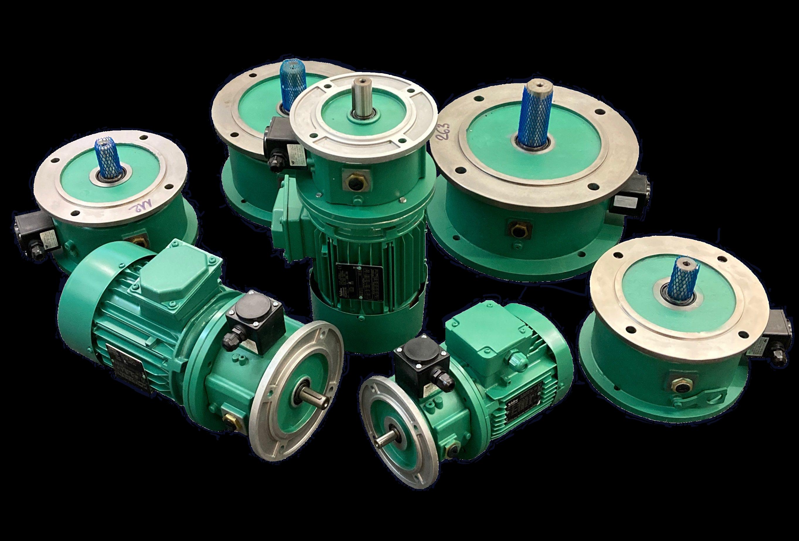 IEC Brakes of VIS Company