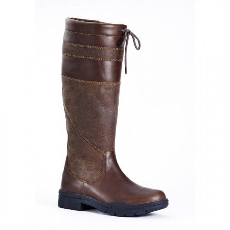 Glenna Country Style Leather Boot