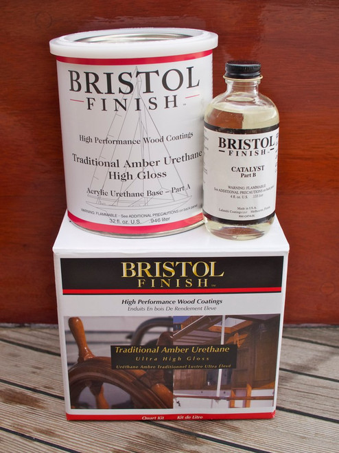 Bristol Finish Traditional Amber Quart Kit