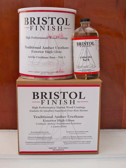 Bristol Finish Traditional Amber Gallon Kit