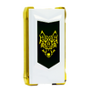 Snowwolf Mfeng UX Mod Pearl White & Gold Back