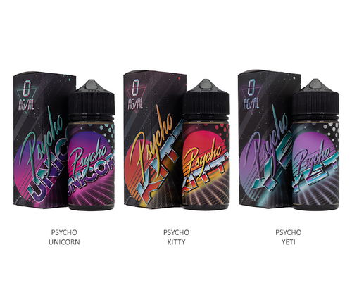 Puff Labs Psycho All Flavors 100ml