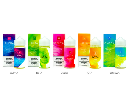 Marina Vape Alternativ All Flavors 100ml