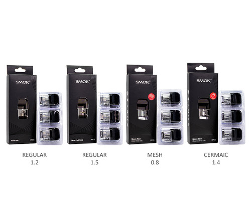 SMOK Novo Pods 3-Pack All Pods