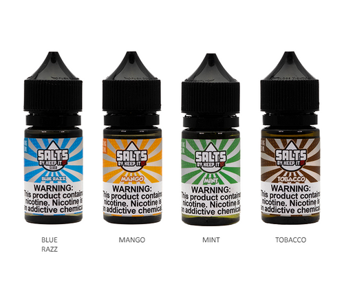 Keep it 100 Salts All Flavors 30ml