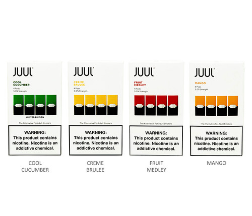 Juul Pods All Flavors 4 Pack