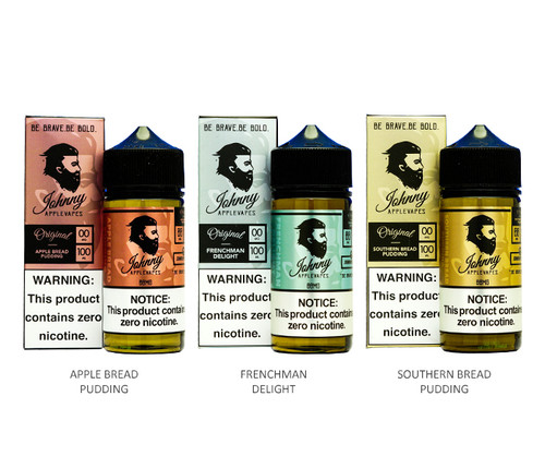Johnny AppleVapes All Flavors 100mL