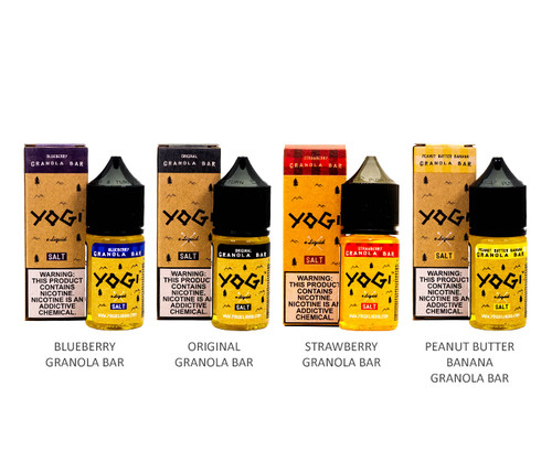 Yogi Salts 30mL All Flavors