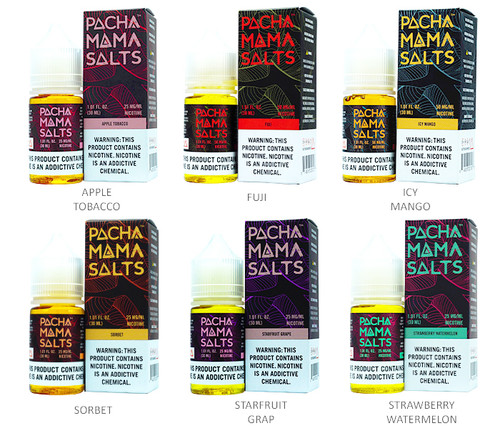 Pachamama Salt Series (30mL)