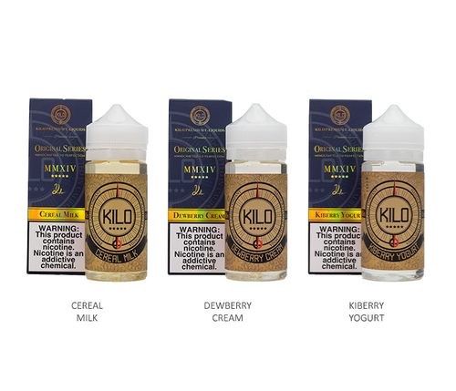 Kilo Original Series All Flavors 100ml