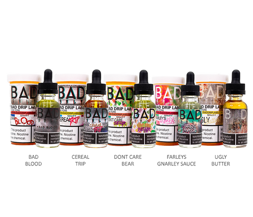 Bad Drip Salts All Flavors 30ml