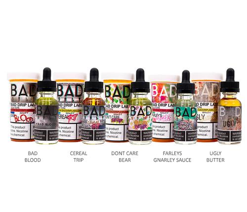 Bad Drip Salts All Flavors 30ml