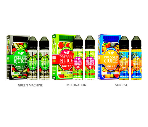 Pressed 120mL All Flavors