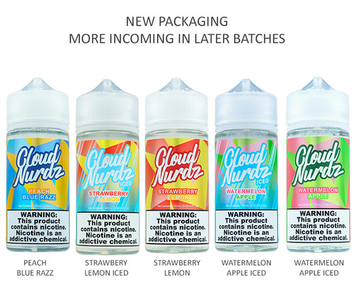 Cloud Nurdz Series (100mL)