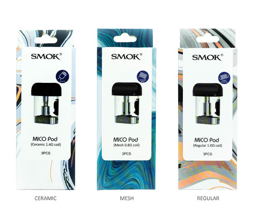 SMOK Mico Pods All Pods 3-Pack